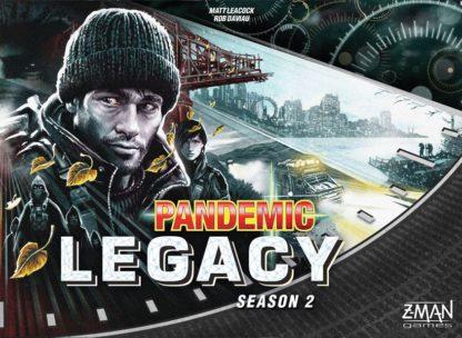 Pandemic Legacy season 2 black box board game