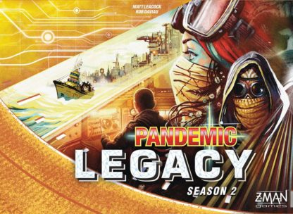 Pandemic Legacy season 2 gold box board game
