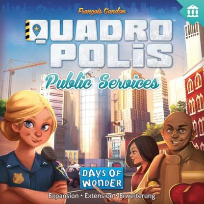 Quadropolis Public Services board game expansion