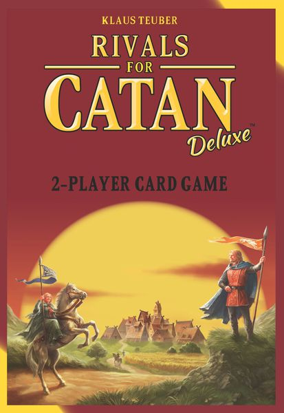Rivals for catan deluxe edition card board game