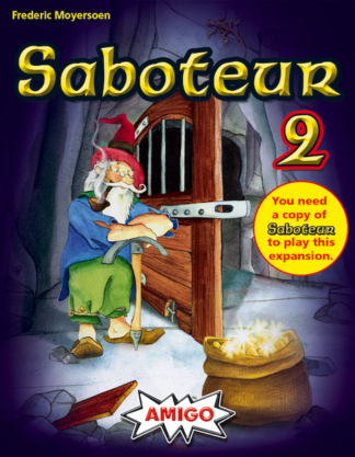 Saboteur 2 card game expansion