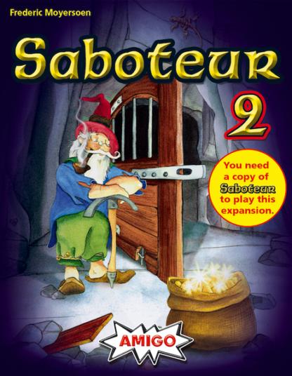 Saboteur 2 card game expansion
