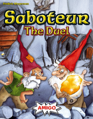 Saboteur The Duel card game
