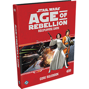 Star Wars Age of Rebellion Roleplaying Game RPG