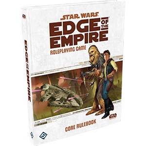 Star Wars Edge of the empire roleplaying game RPG