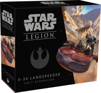 Star Wars Legion X-34 Landspeeder Unit Expansion
