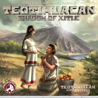 Teotihuacan Shadow of Xitle board game expansion