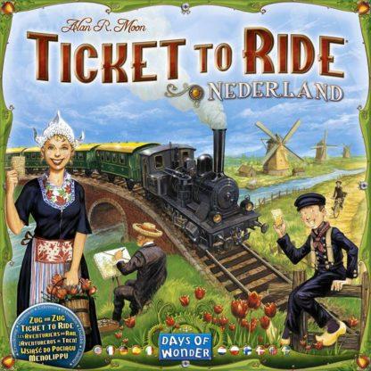 Ticket to Ride Map Collection Volume 4 Nederland, Days of Wonder