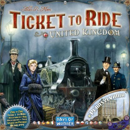 Ticket to Ride Map Collection Volume 5 United Kingdom & Pennsylvania, Days of Wonder, 2015