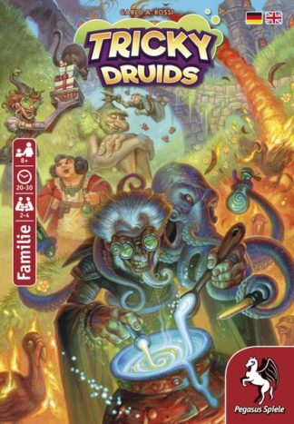 Tricky Druids board game