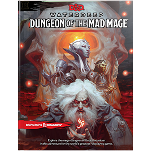 Waterdeep Dungeon of the mad mage rpg roleplaying book D&D
