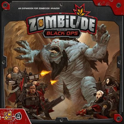 Zombicide Black Ops board game