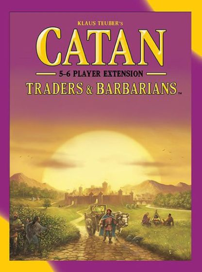 catan traders and Barbarians 5-6 player extension
