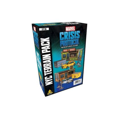 marvel-crisis-protocol-nyc-terrain-pack board game