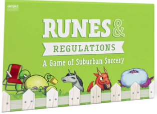 runes and regulations board game