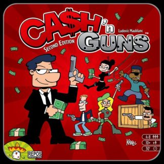 Ca$h 'n Guns Cash and Guns board Game