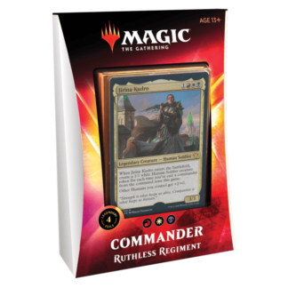 Commander 2020 Ruthless Regiment mtg magic the gathering