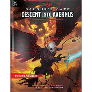 Dungeons and Dragons Baldur's Gate Descent into Avernus rpg DnD D&D
