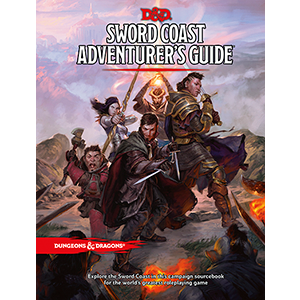 Dungeons and Dragons Sword Coast Adventurer's Guide RPG DnD D&D
