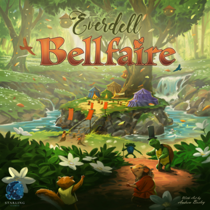 Everdell Bellfaire Expansion Board Game