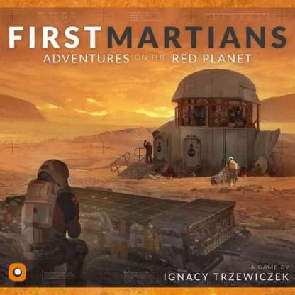 First Martians Adventures on the Red Planet board game