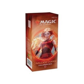 Magic The Gathering Cavalcade Charge Challenger Deck