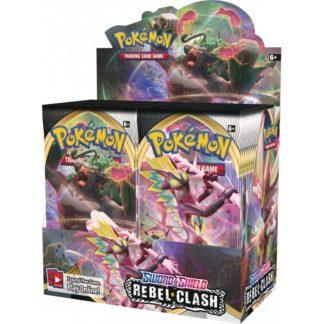 Pokemon Sword and Shield 2 Rebel Clash Booster Box