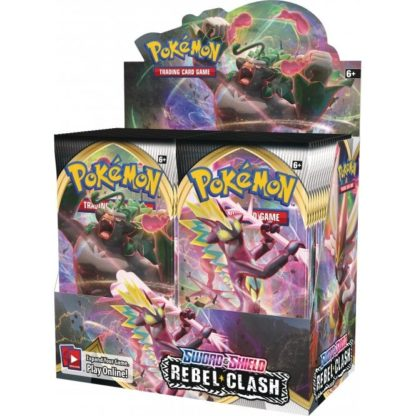 Pokemon Sword and Shield 2 Rebel Clash Booster Box