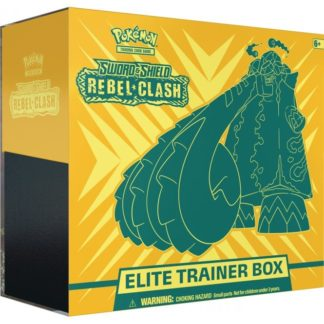 Pokemon Sword and Shield 2 Rebel Clash Elite Trainer Box