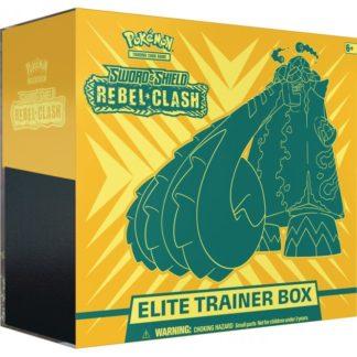 Pokemon Sword and Shield 2 Rebel Clash Elite Trainer Box