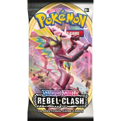 Pokemon Sword and Shield Rebel Clash Booster