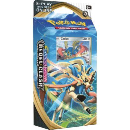 Pokemon Sword and Shield Rebel Clash Zacian Theme Deck
