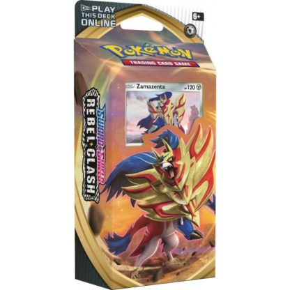 Pokemon Sword and Shield Rebel Clash Zamazenta Theme Deck