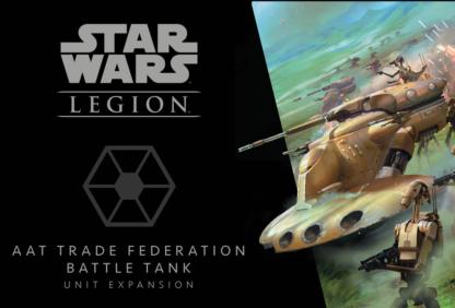 Star Wars Legion AAT Trade Federation Battle Tank Unit Expansion board game