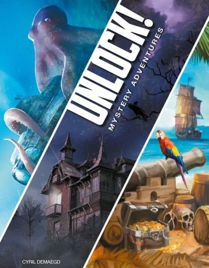 Unlock! Mystery Adventures Board Game