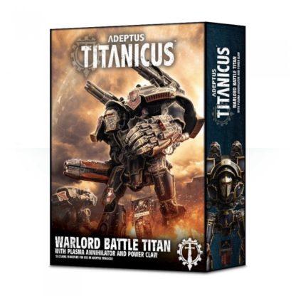 Adeptus Titanicus Warlord Titan with Plasma Annihilator