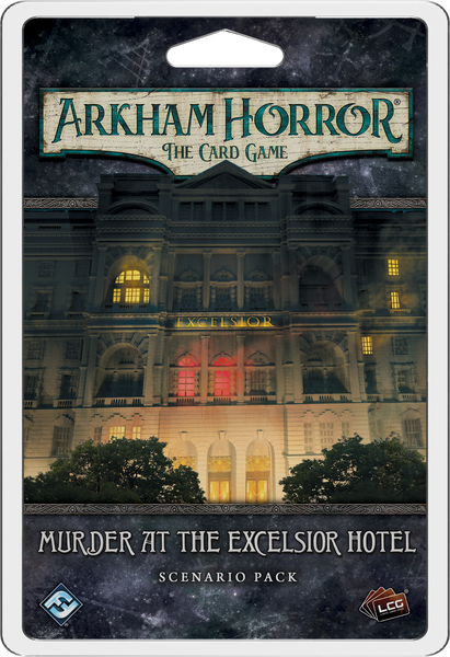 Arkham Horror The Card Game Murder at the Excelsior Hotel