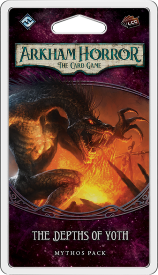 Arkham Horror The Card Game The Depths of Yoth Mythos Pack