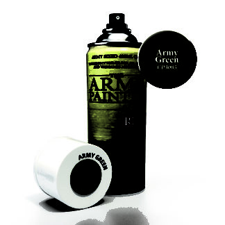 Army Green Primer Spray