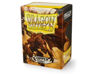 Dragon Shield Classic Copper 100 Standard Size card sleeves