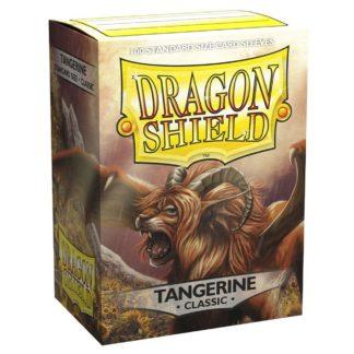 Dragon Shield Classic Tangerine 100 Standard Size card sleeves