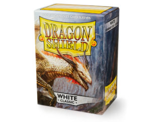 Dragon Shield Classic White 100 Standard Size card sleeves