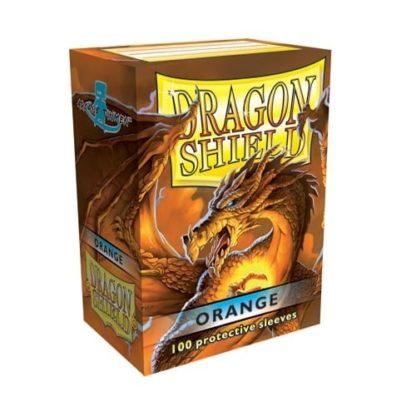 Dragon Shield Orange 100 Standard Size card sleeves