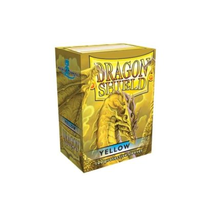 Dragon Shield Yellow 100 Standard Size card sleeves