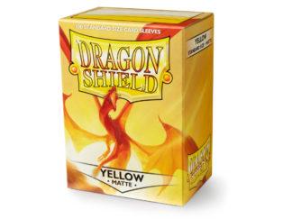Dragon-shield-100-matte-Yellow-gamers-world