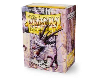 Dragon Shield Lilac Matte 100 Standard Size card sleeves