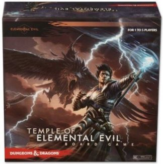 Dungeons & Dragons Temple of Elemental Evil Board Game Board Game
