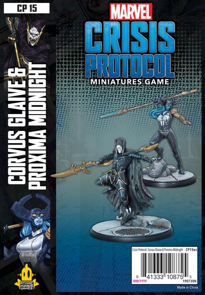 Marvel Crisis Protocol Corvus Glaive & Proxima Midnight