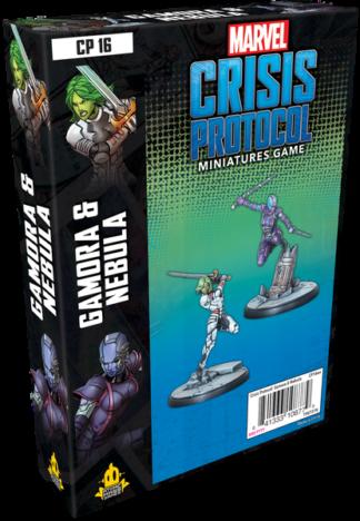 Marvel Crisis Protocol Gamora & Nebula
