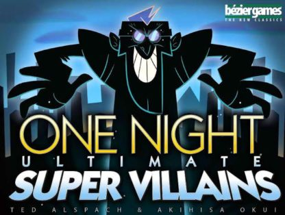 One Night Ultimate Super Villains Party card Game
